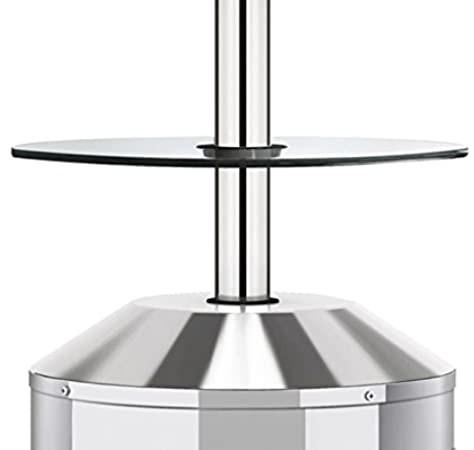 Levně Skleněný stolek Enders Elegance