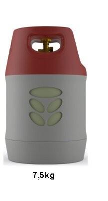 Kompozitová plynová láhev 7.5 kg (Bez náplně)