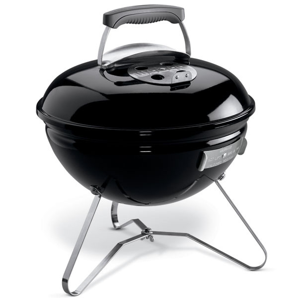 Gril Weber na dřevěné uhlí Smokey Joe - černý